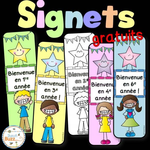 Signets - La rentrée - GRATUIT