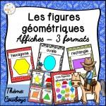 Les figures géométriques - Affiches - Cowboys