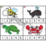 Les syllabes - compte les syllabes - 60 cartes