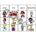 Les verbes d'action - Ensemble jeux d'association