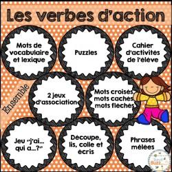 Les verbes d'action - Ensemble