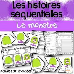 Histoires séquentielles - Le monstre
