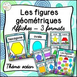 Les figures géométriques - Affiches -  océan