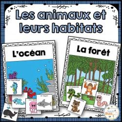 Les habitats et les animaux