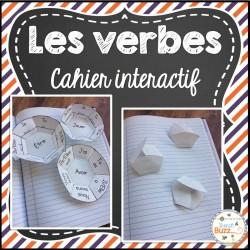 Les verbes - cahier interactif