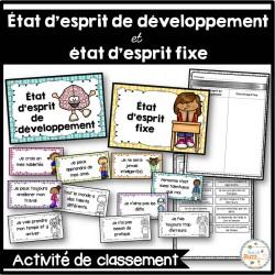 État d'esprit de développement - Classement