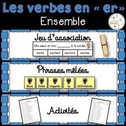 """Les verbes en """"er"""" - Ensemble"""