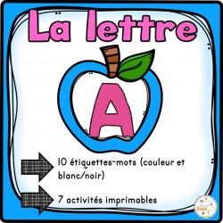 """L'alphabet - La lettre """"A"""""""