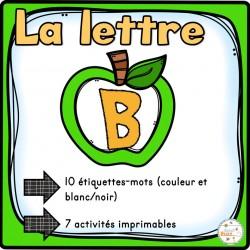 """L'alphabet - La lettre """"B"""""""