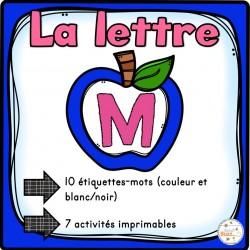 """L'alphabet - La lettre """"M"""""""