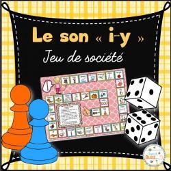 """Le son """"i"""" (y) - jeu de société"""