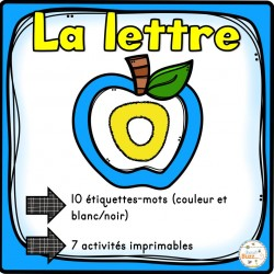 "L'alphabet - La lettre ""O"""