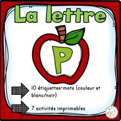"""L'alphabet - La lettre """"P"""""""