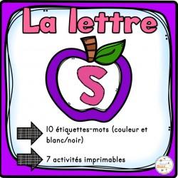 """L'alphabet - La lettre """"S"""""""