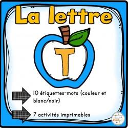 """L'alphabet - La lettre """"T"""""""