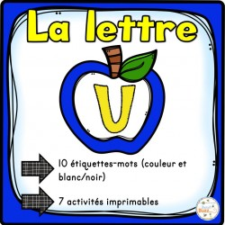 """L'alphabet - La lettre """"U"""""""