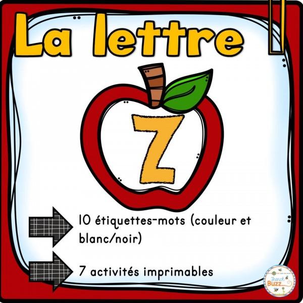 """L'alphabet - La lettre """"Z"""""""