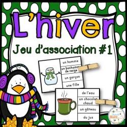 Hiver - Jeu d'association #1