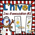 Hiver - Jeu d'association #2