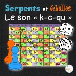 """Le son """"k-c-qu"""" - Serpents et échelles"""