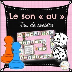"""Le son """"ou"""" - jeu de société"""