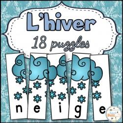 Hiver -18 puzzles/casse-têtes