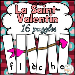 Saint-Valentin -16 puzzles