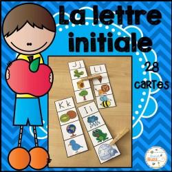 Lettre initiale 2 - jeu d'association/lettres