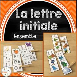 La lettre initiale - Ensemble - 2 jeux