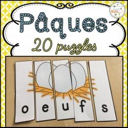 Pâques - 20 puzzles
