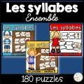 Les syllabes - Ensemble - 160 puzzles