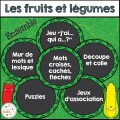 Fruits et légumes - Ensemble