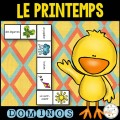 Le printemps - Dominos