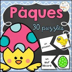 Pâques - 30 casses-tête/puzzles