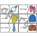 Les vêtements - puzzles - casse-tête
