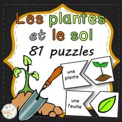 Les plantes et le sol - 81 puzzles