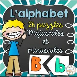 L'alphabet - 26 puzzles