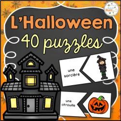 L'Halloween - 40 puzzles