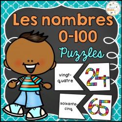 Nombres 0-100 - Puzzles