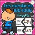 Nombres 100-1000 - Puzzles - Casse-tête
