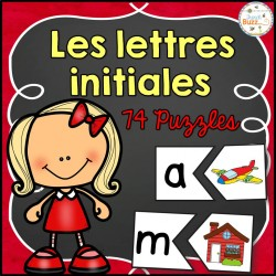 Lettres initiales - 74 puzzles