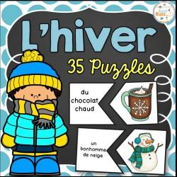 L'hiver - 34 puzzles