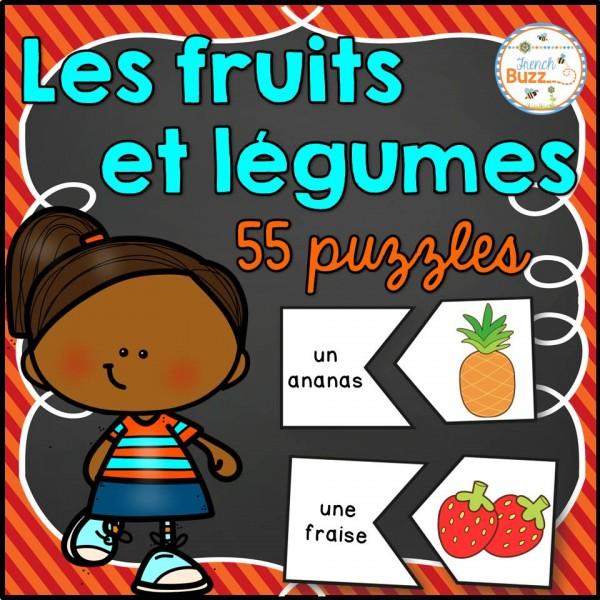 Les fruits et légumes - 55 puzzles/casses-têtes