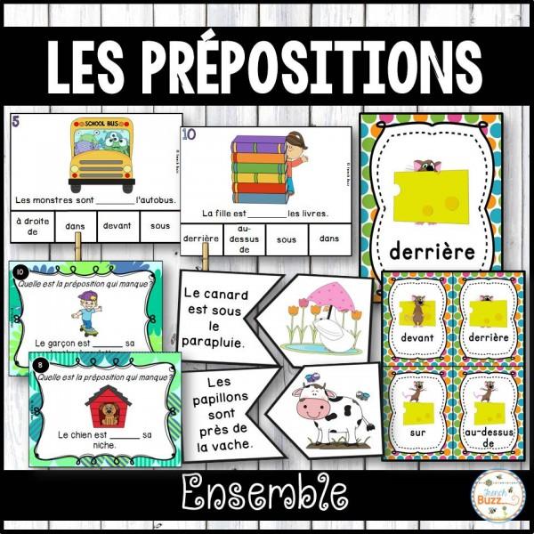 Les prépositions - Ensemble