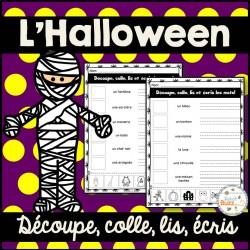 L'Halloween - Découpe et colle