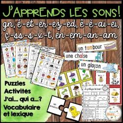 """Les sons """"ç, é, è, en, gn"""" - Ensemble"""