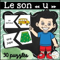 "Le son ""u"" - 30 puzzles"
