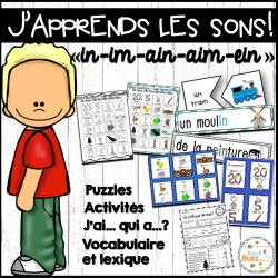 """Le son """"in"""" - jeux et activités"""
