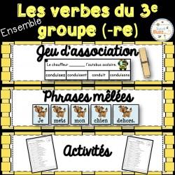 Verbes du troisième groupe (-re) - Ensemble