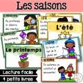 Les saisons - Livres de lecture simples